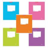 Тетрадь 12 л., ERICH KRAUSE, клетка, мелованный картон обложка, «Классика»