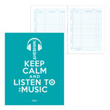 Дневник для 1-11 классов, интегральный, ламинированная обложка, HATBER, «KEEP CALM», 40ДL5В 16008
