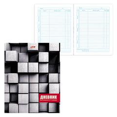 Дневник для 5-11 классов, твердый, ламинированная обложка, HATBER, «Cubic Style», 48ДТ5В 16055
