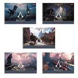 Альбом для рисования, 24 л., HATBER, спираль, обложка мелованный картон, 100 г/<wbr/>м<sup>2</sup>, «Assassin's Creed», 24А4Всп