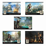 Альбом для рисования, 32 л., HATBER, обложка мелованный картон, 100 г/<wbr/>м<sup>2</sup>, «Assassin's Creed», 32А4В