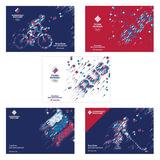 Альбом для рисования, 40 л., HATBER, обложка мелованный картон, 100 г/<wbr/>м<sup>2</sup>, «Команда России», 40А4В