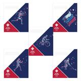 Тетрадь 12 л., HATBER, клетка, обложка мелованный картон, «Команда России», 12Т5В1