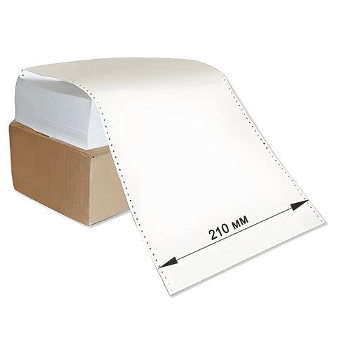 """Бумага с неотрывной перфорацией, 210×305(12"""")х2000 (1600 л.), плотность 65 г/<wbr/>м<sup>2</sup>, белизна 98%, STARLESS"""