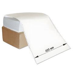 """Бумага с неотрывной перфорацией, 420×305(12"""")х2000 (1600 л.), плотность 65 г/<wbr/>м<sup>2</sup>, белизна 98%, STARLESS"""