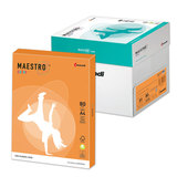 Бумага MAESTRO color А4, 80 г/<wbr/>м<sup>2</sup>, 500 л., интенсивно-оранжевая OR43