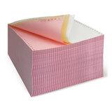 """Бумага с отрывной перфорацией самокопирующая цветная AKZENT, 240 (12""""), 3-х слойная (600 комплектов)"""