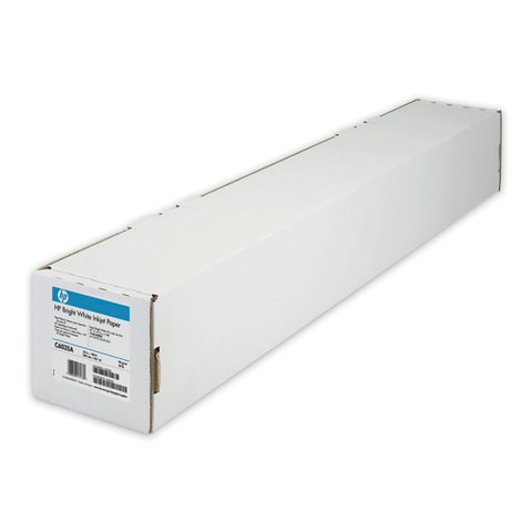 Рулон для плоттера, 610 мм х 45 м х втулка 50,8 мм, 90 г/<wbr/>м<sup>2</sup>, белизна CIE 168%, Bright White InkJet HP C6035A