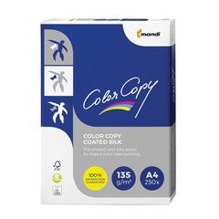 Бумага COLOR COPY SILK, мелованная матовая, А4, 135 г/<wbr/>м<sup>2</sup>, 250 л., для полноцветной лазерной печати, А++, Австрия, 138% (CIE)
