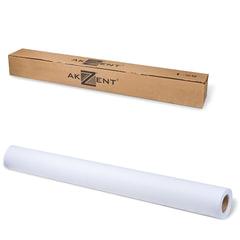 Рулон для плоттера, 914 мм х 45 м х втулка 50,8 мм, 80 г/<wbr/>м<sup>2</sup>, белизна CIE 169%, InkJet AKZENT
