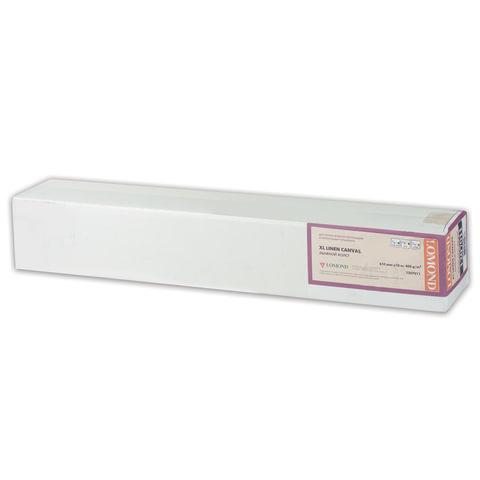 Рулон для плоттера (арт-бумага), 610 мм х 10 м х втулка 50,8 мм, 300 г/<wbr/>м<sup>2</sup>, фактура льняной ткани, LOMOND, 1207011
