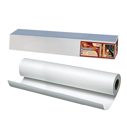 Рулон для плоттера (арт-бумага), 610 мм х 15 м х втулка 50,8 мм, 340 г/<wbr/>м<sup>2</sup>, ярко-белый, матовое, хлопковое покрытие, LOMOND,1207071