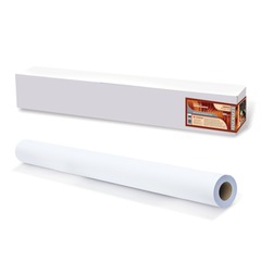 Рулон для плоттера (холст), 914 мм х 15 м х втулка 50,8 мм, 340 г/<wbr/>м<sup>2</sup>, ярко-белый, матовое, хлопковое покрытие, LOMOND,1207072