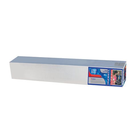 Рулон для плоттера (фотобумага), 610 мм х 30 м х втулка 50,8 мм, 270 г/<wbr/>м<sup>2</sup>, суперглянцевое покрытие, LOMOND, 1201081