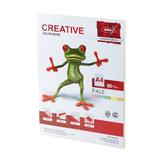 Бумага CREATIVE color (Креатив), А4, 80 г/<wbr/>м<sup>2</sup>, 100 л. (5 цв.х20 л.), цветная пастель