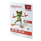Бумага CREATIVE color (Креатив), А4, 80 г/<wbr/>м<sup>2</sup>, 100 л., пастель зеленая