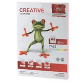 Бумага CREATIVE color (Креатив), А4, 80 г/<wbr/>м<sup>2</sup>, 100 л., пастель розовая
