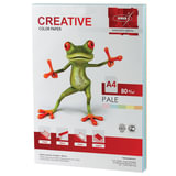Бумага CREATIVE color (Креатив), А4, 80 г/<wbr/>м<sup>2</sup>, 250 л. (5 цв. х 50 л.), цветная пастель