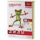 Бумага CREATIVE color (Креатив), А4, 80 г/<wbr/>м<sup>2</sup>, 250 л. (5 цв.х50 л.), цветная медиум