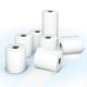 Рулоны для кассовых аппаратов, термобумага, 44×20×12 (20 м), комплект 18 шт., гарантия намотки, BRAUBERG (БРАУБЕРГ)