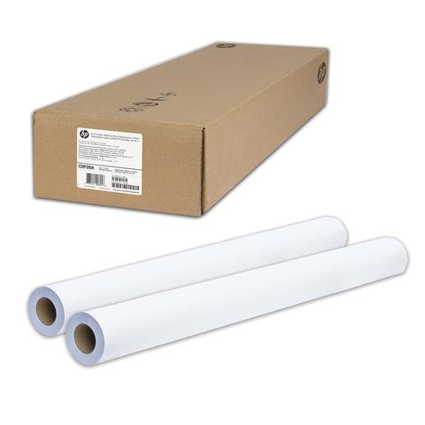 Рулоны для плоттера (пленка самоклеящаяся), 1067 мм х 22 м х втулка 50,8 мм, 120 г/<wbr/>м<sup>2</sup>, глянцевые, комплект 2 шт., HP C0F29A