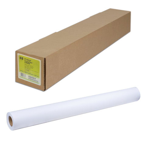 Рулон для плоттера, 914 мм х 45 м х втулка 50,8 мм, 90 г/<wbr/>м<sup>2</sup>, белизна CIE 117%, Universal Coated HP Q1405B