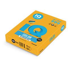 Бумага IQ (АйКью) color, А4, 80 г/<wbr/>м<sup>2</sup>, 500 л., умеренно-интенсив (тренд) старое золото, AG10