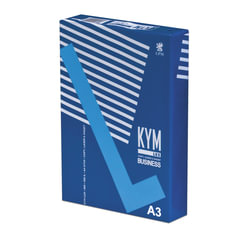 Бумага офисная А3, класс «B+», KYM LUX BUSINESS, 80 г/<wbr/>м<sup>2</sup>, 500 л., Германия, белизна 164% (CIE)