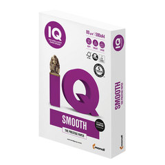 Бумага IQ SELECTION SMOOTH, А4, 80 г/<wbr/>м<sup>2</sup>, 500 л., класс «А+», Австрия, белизна 170% (CIE)