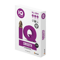 Бумага IQ SELECTION SMOOTH, А4, 100 г/<wbr/>м<sup>2</sup>, 500 л., для струйной и лазерной печати, А+, Австрия, 169% (CIE)