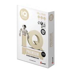 Бумага IQ PREMIUM, А4, 200 г/<wbr/>м<sup>2</sup>, 250 л., класс «А+», Австрия, белизна 170% (CIE)