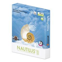 Бумага NAUTILUS SUPER WHITE, RECYCLED, А4, 80 г/<wbr/>м<sup>2</sup>, 500 л., класс «А», Австрия, 150% (CIE)