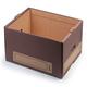 Короб архивный «Универсальный короб», 44×34×26,5 см, надстраиваемый, без крышки, картон