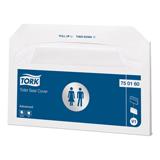 Покрытия на унитаз TORK (V1) Advanced бумажные, 250 шт., белые, 37×42 см, диспенсер 600300, 750160