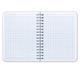 Записная книжка, А6, 140 л., гребень, обложка лакированный картон, HATBER, «Техно», 105×145 мм