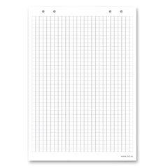 """Блокнот для флипчарта «2×3"""" (""""Дважды три», Польша), 20 листов, клетка, 66×99 см"""