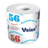Бумага туалетная бытовая, 39 м, VEIRO (Вейро) «Сыктывкарский стандарт», на втулке