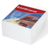 Блок для записей ERICH KRAUSE непроклеенный, 9×9×5 см, белый