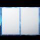 Папка адресная ламинир., выб. лак «Поздравляем с юбилеем» (тюльпаны на синем), формат А4