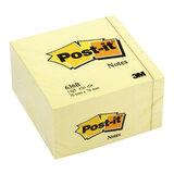 Блок самоклеящийся POST-IT, 76×76 мм, 450 л., желтый (3М, США)