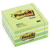 Блок самоклеящийся POST-IT, 76×76 мм, 450 л., «Зеленая пастель» (3М, США)