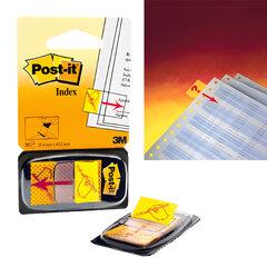 Закладки клейкие POST-IT, 25 мм, «Поставьте вашу подпись», 50 шт. (3М, США)