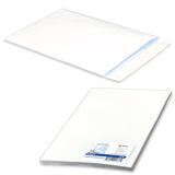 Конверт-пакет С4 плоский, комплект 25 шт., 229×324 мм, отрывная полоса, белый, на 90 листов