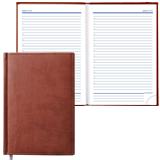Ежедневник ERICH KRAUSE, недатированный, А5, 130×210 мм, «Vivella», «гладкая кожа», коричневый