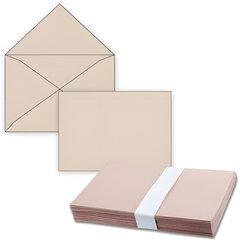 Конверты С4, комплект 500 шт., без клеевого слоя, крафт-бумага, треугольный клапан, 229×324 мм