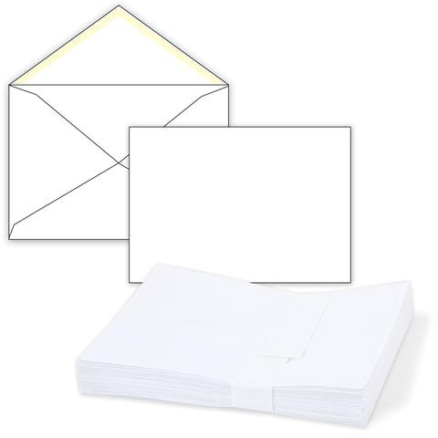 Конверты С5, комплект 1000 шт., клей декстрин, белые, 162×229 мм