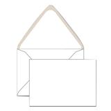 Конверты С6, комплект 1000 шт., клей декстрин, белые, 114×162 мм