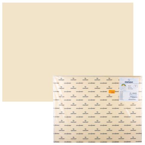 Бумага (картон) CANSON «Iris Vivaldi», А2+, 500×650 мм, 240 г/<wbr/>м<sup>2</sup>, 2-сторонняя, кремовая