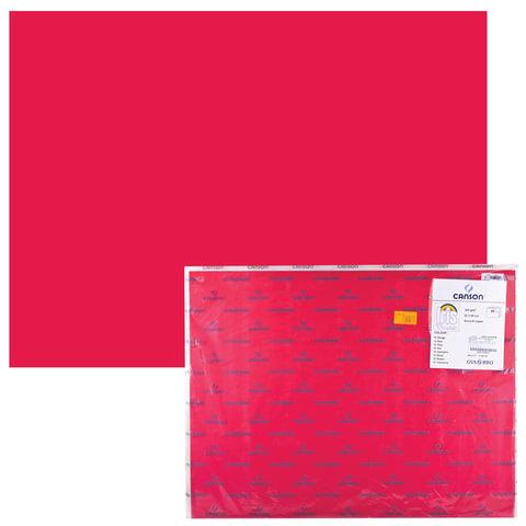 Бумага (картон) CANSON «Iris Vivaldi», А2+, 500×650 мм, 240 г/<wbr/>м<sup>2</sup>, 2-сторонняя, красная