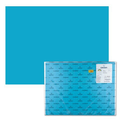 Бумага (картон) CANSON «Iris Vivaldi», А2+, 500×650 мм, 240 г/<wbr/>м<sup>2</sup>, 2-сторонняя, бирюзовая